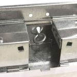 P-03036 multicattura per topi zincata con finestra EVO