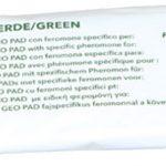 P-04077 Geo Pad verde